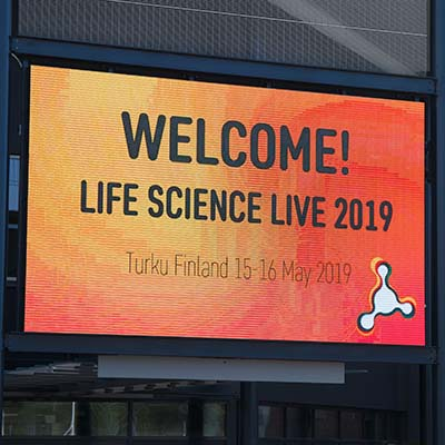 Turku Bioscience team gets broad attention at Live Science Live