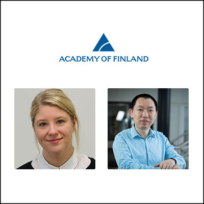 Two Academy Research Fellows selected from Turku Bioscience