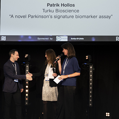 Patrik Hollos Won Nordic Life Science Award 2019