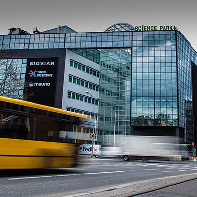 Easy to find Turku Bioscience