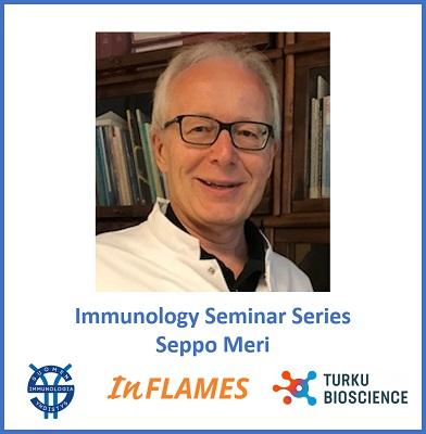 Immunology Seminar Series, Seppo Meri
